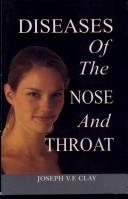 Cover of: Diseases of Nose and Throat
