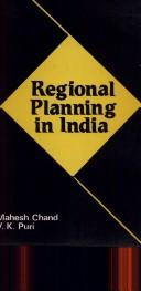 Cover of: Regional Planning in India