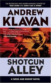 Cover of: Shotgun Alley