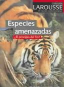 Cover of: Especies Amenazadas by Yves Sciama