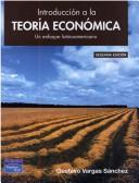 Cover of: Introduccion a la Teoria Economica