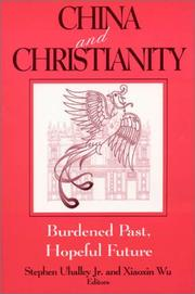 Cover of: China and Christianity |