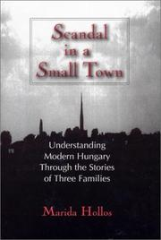 Cover of: Scandal in a Small Town