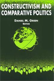 Cover of: Constructivism and Comparative Politics (International Relations in a Constructed World)