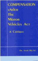 Cover of: Compensation Under the Motor Vehicles Act