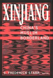 Cover of: Xinjiang | S. Frederick Starr
