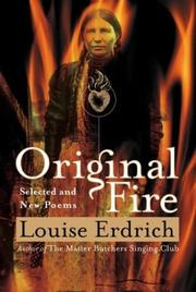 Cover of: Original Fire: Selected and New Poems