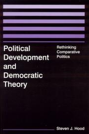 Cover of: Political Development and Democratic Theory