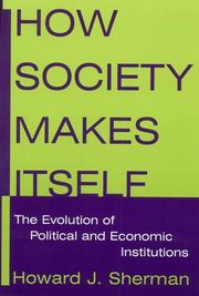 Cover of: How society makes itself