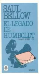 Cover of: Legado De Humboldt: Premio Nobel 1976