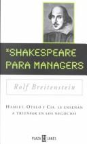 Cover of: Shakespeare para managers