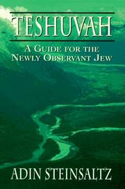 Cover of: Teshuvah