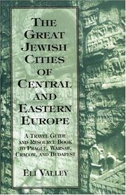 Cover of: The great Jewish cities of Central and Eastern Europe