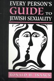 Cover of: Every Person's Guide to Jewish Sexuality