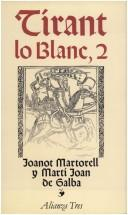 Cover of: Tirant Lo Blanc, 2