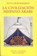 Cover of: Civilizacion Hispano Arabe, La