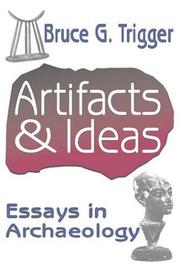 Cover of: Artifacts & ideas | Bruce G. Trigger