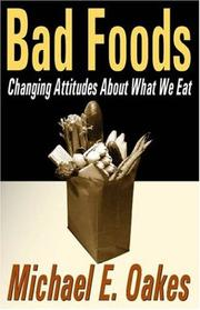 Cover of: Bad Foods | Michael Oakes
