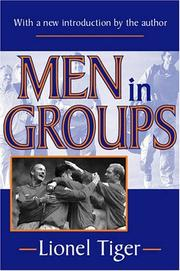 Cover of: Men in groups