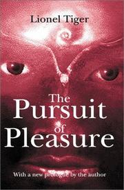 Cover of: The pursuit of pleasure