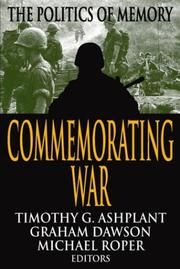 Cover of: Commemorating War |