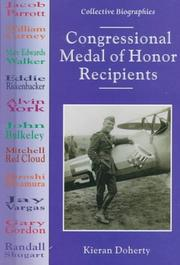 Cover of: Congressional Medal of Honor recipients