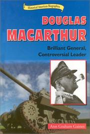Cover of: Douglas Macarthur |