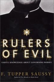 Cover of: Rulers of Evil | F. Tupper Saussy