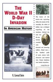 Cover of: The World War II D-Day invasion in American history