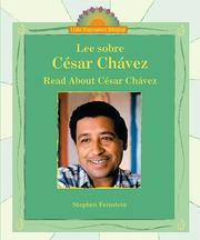 Cover of: Lee sobre Cesar Chavez/Read About Cesar Chavez (I Like Biographies! (Bilingual))
