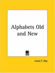 Cover of: Alphabets old & new
