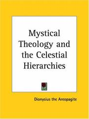 Cover of: Mystical Theology and the Celestial Hierarchies