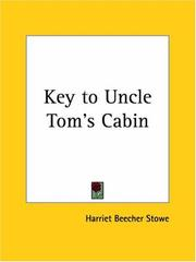 Cover of: Key to Uncle Tom