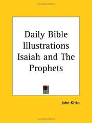 Cover of: Daily Bible Illustrations Isaiah and The Prophets