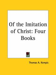 Cover of: Of the Imitation of Christ | Thomas Г  Kempis