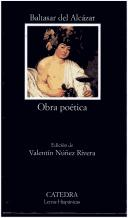 Cover of: Obra poética