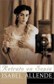 Cover of: Retrato en sepia: Una Novela