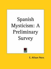 Cover of: Spanish mysticism