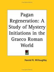 Pagan regeneration by Harold R. Willoughby