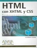 Cover of: Html Con Xhtml Y Css (Diseno Y Creatividad / Design & Creativity)