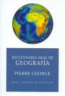 Cover of: Diccionario De Geografia/ Geography Dictionary (Basica De Bolsillo)