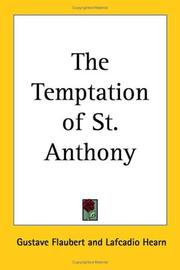 Cover of: The Temptation of St. Anthony | Gustave Flaubert