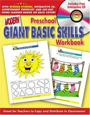 Cover of: Preschool Giant Basic Skills Workbook with CD Rom (Giant Basic Skills Workbooks) | Modern Publishing