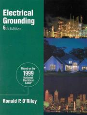 Cover of: Electrical Grounding | Ron O
