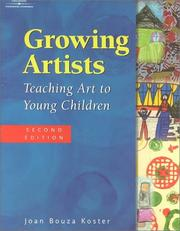 Cover of: Growing Artists | Joan Bouza Koster
