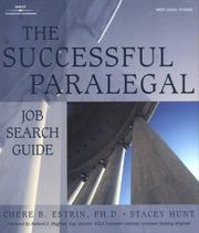 Cover of: The successful paralegal