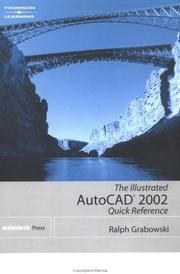 Cover of: The Illustrated Autocad 2002 Quick Reference