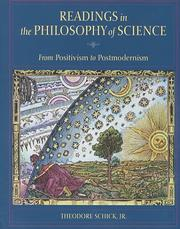 Cover of: Readings in the philosophy of science