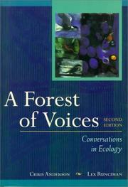 Cover of: A forest of voices