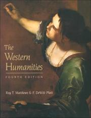 Cover of: Western Humanities, complete | Roy Matthews